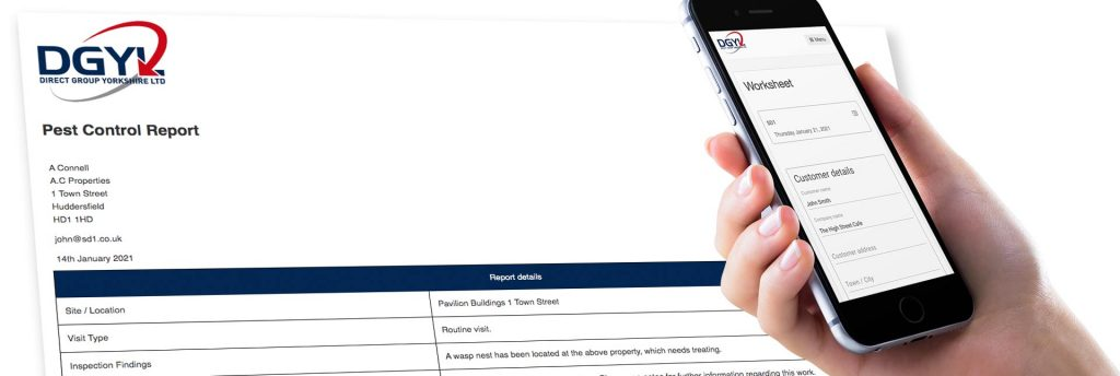 digital reporting app