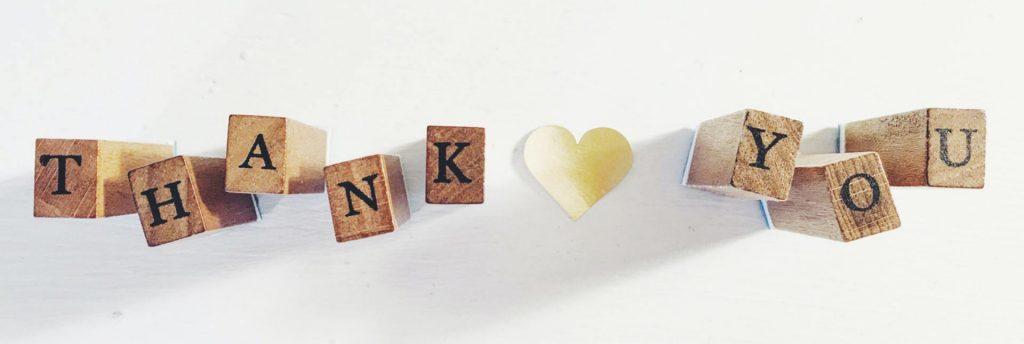 Thank you - testimonials